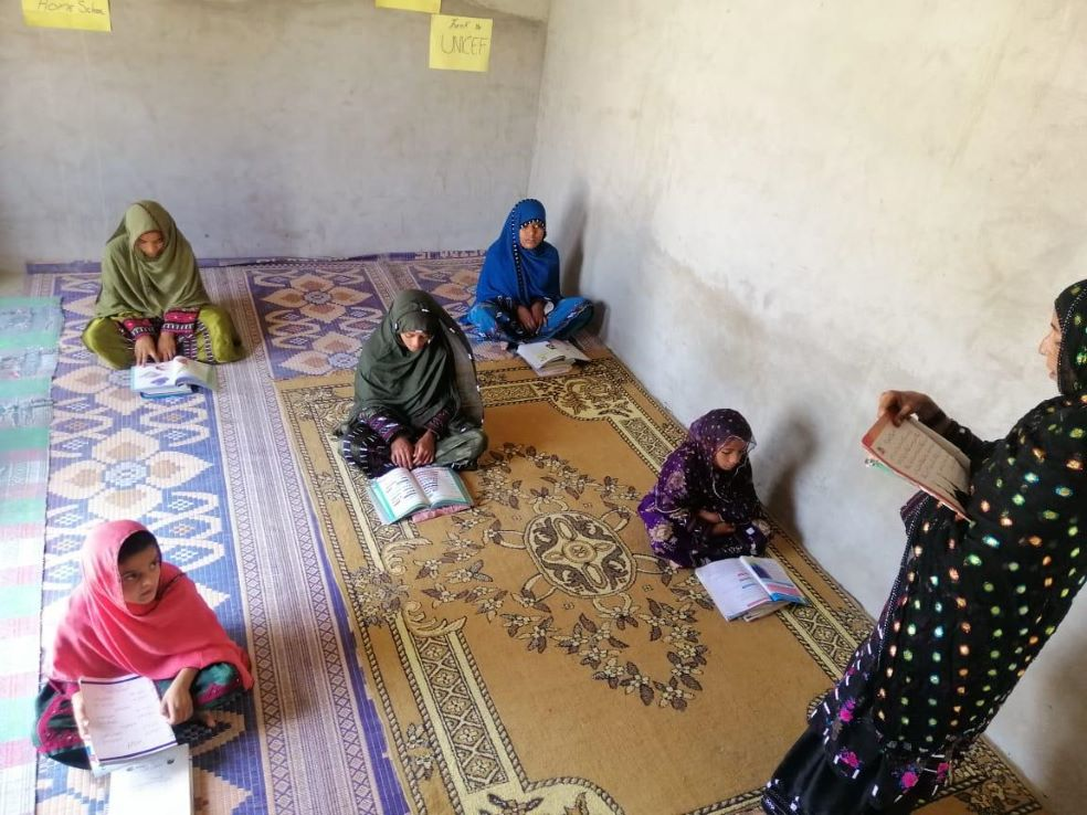 Bringing the classroom home in Balochistan