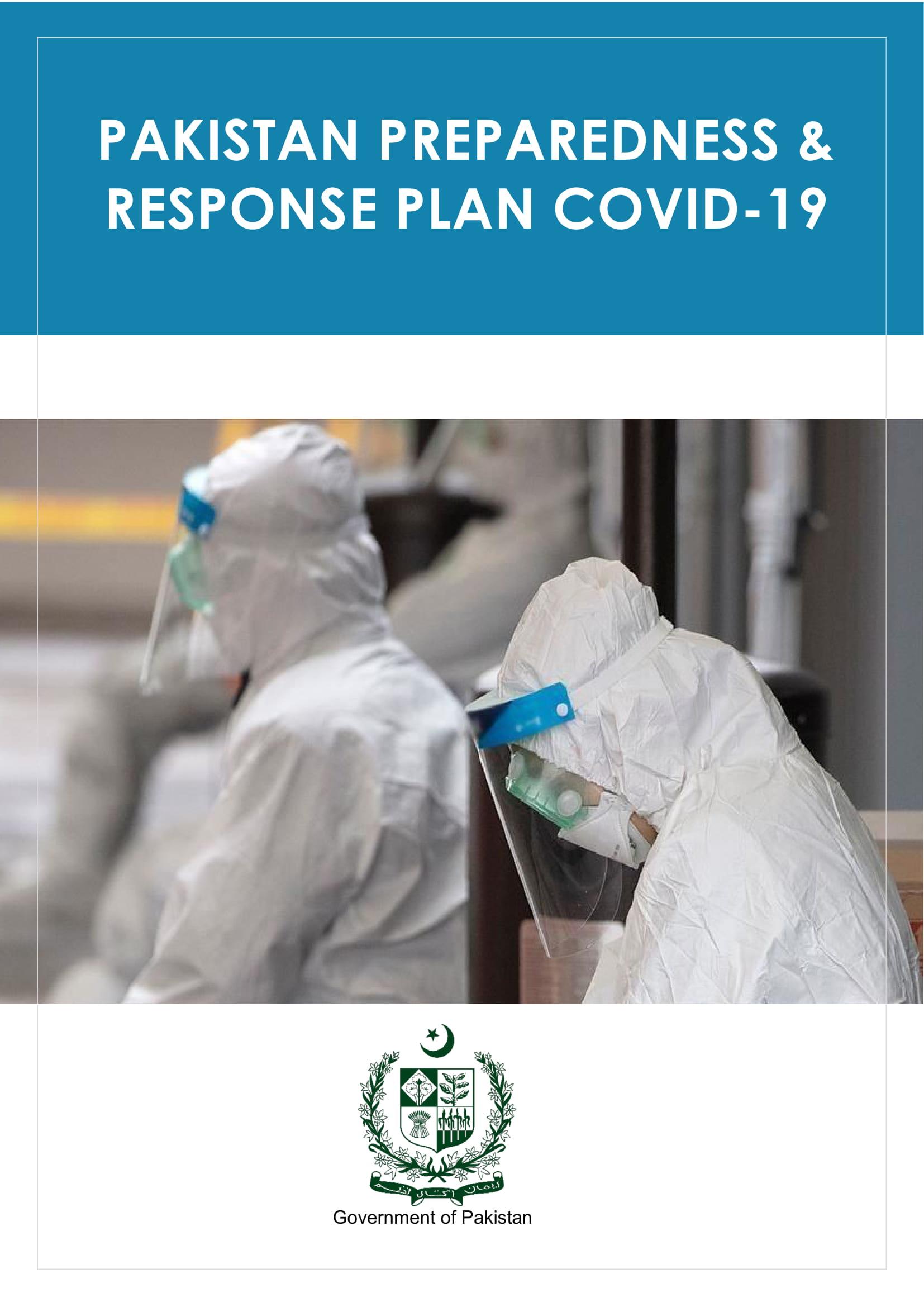 Pakistan Presparedness & Response Plan to COVID-19 (GoP Document)