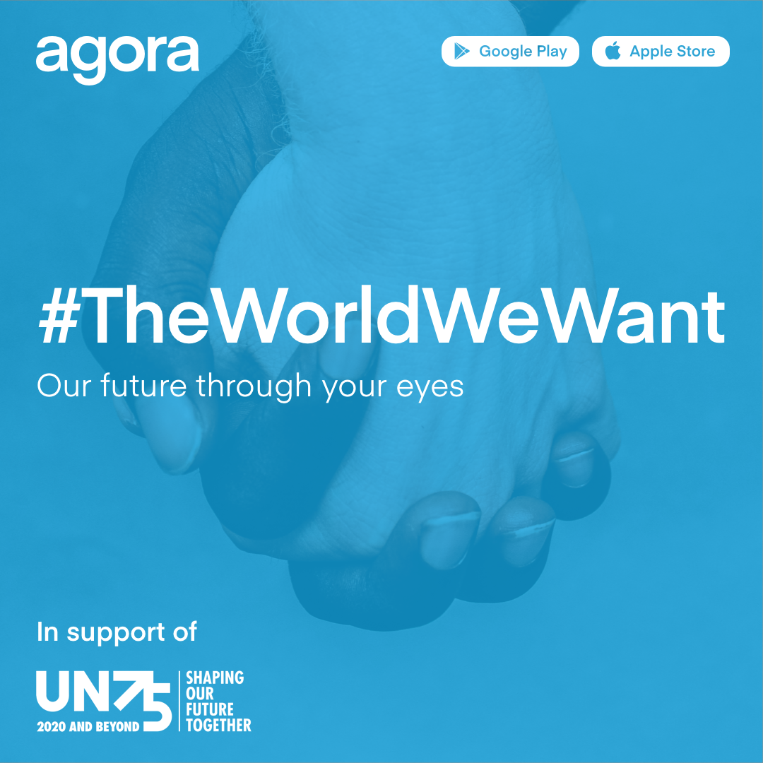 #TheWorldWeWant photo competition in support of #UN75