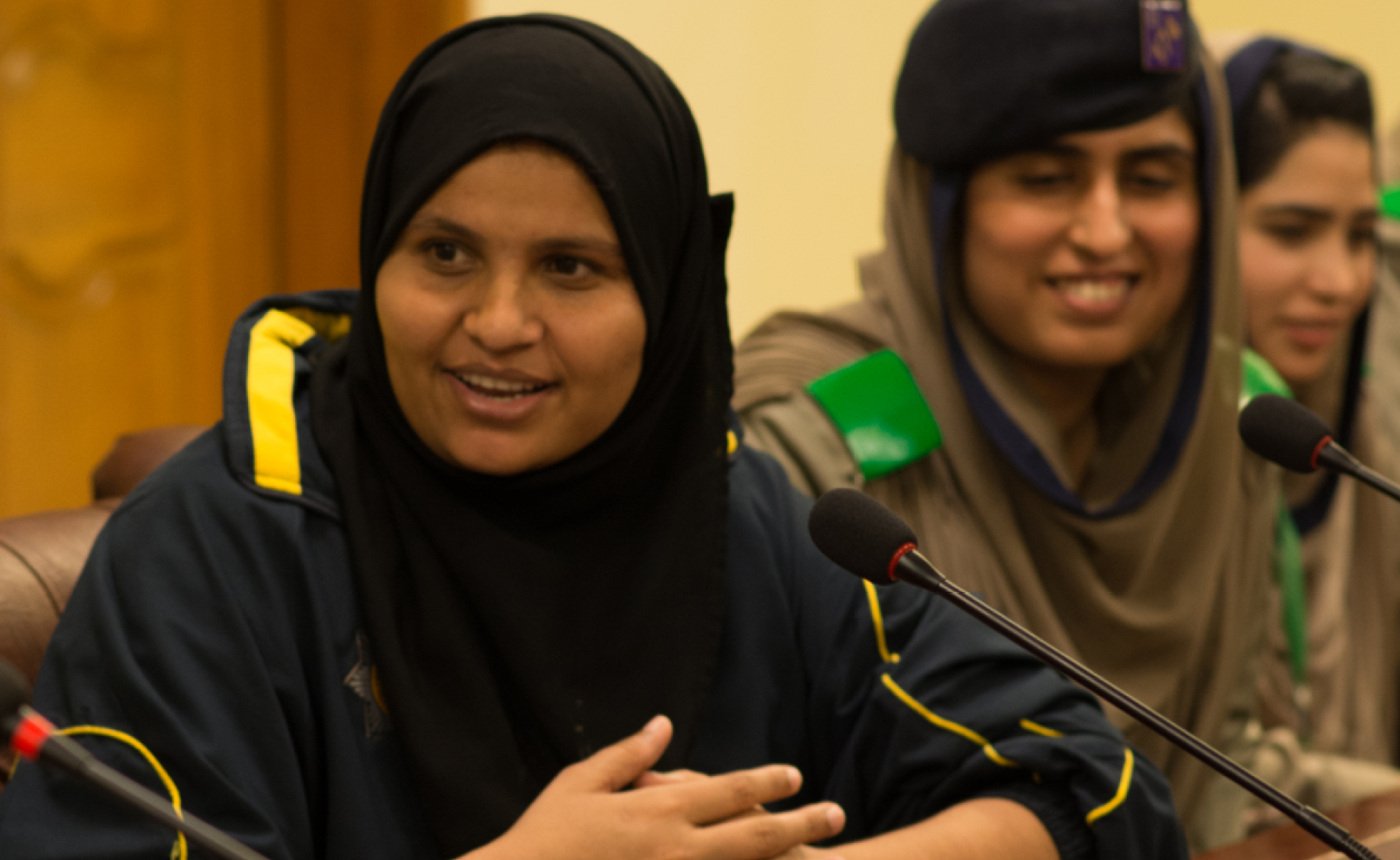 Empowering female police trainees and officers of Sindh and Motorway Police 