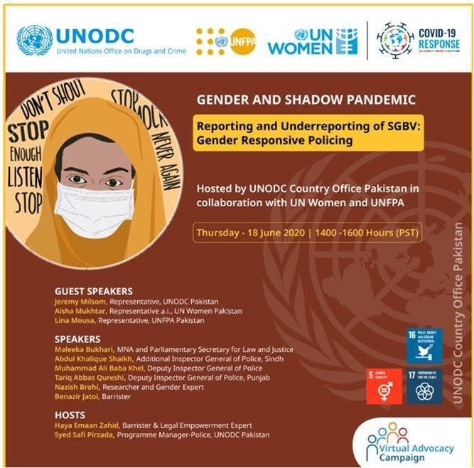 Ramping up gender responsive policing to support the shadow pandemic of GBV in Pakistan