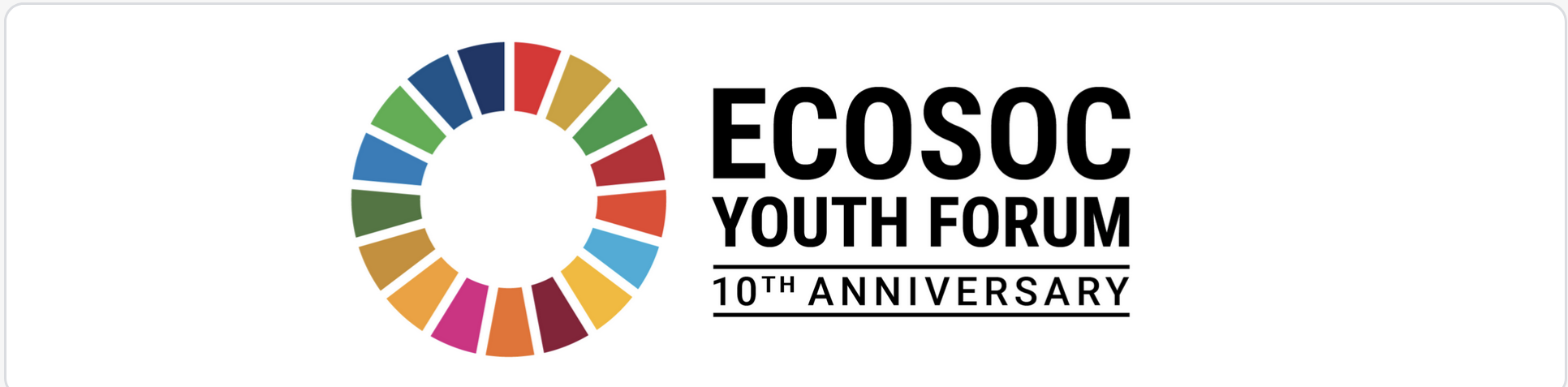 The 10th UNECOSOC Youth Forum