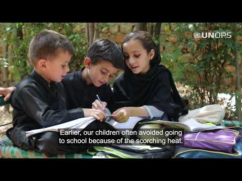 Access to energy: Faryal's story - UNOPS Pakistan