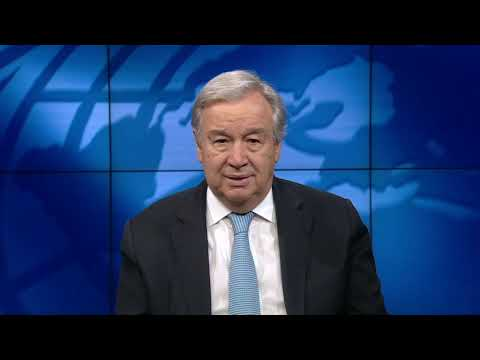 António Guterres video message on World Day to Combat on Desertification