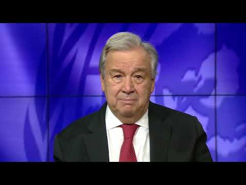 Secretary-General António Guterres video message on International Day of Biological Diversity, 22 May 2021